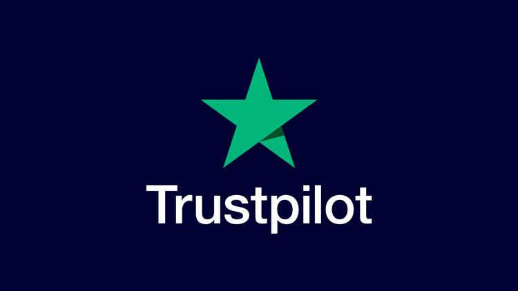 5 star Trust Pilot reviews